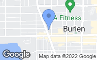 Map of Burien, WA